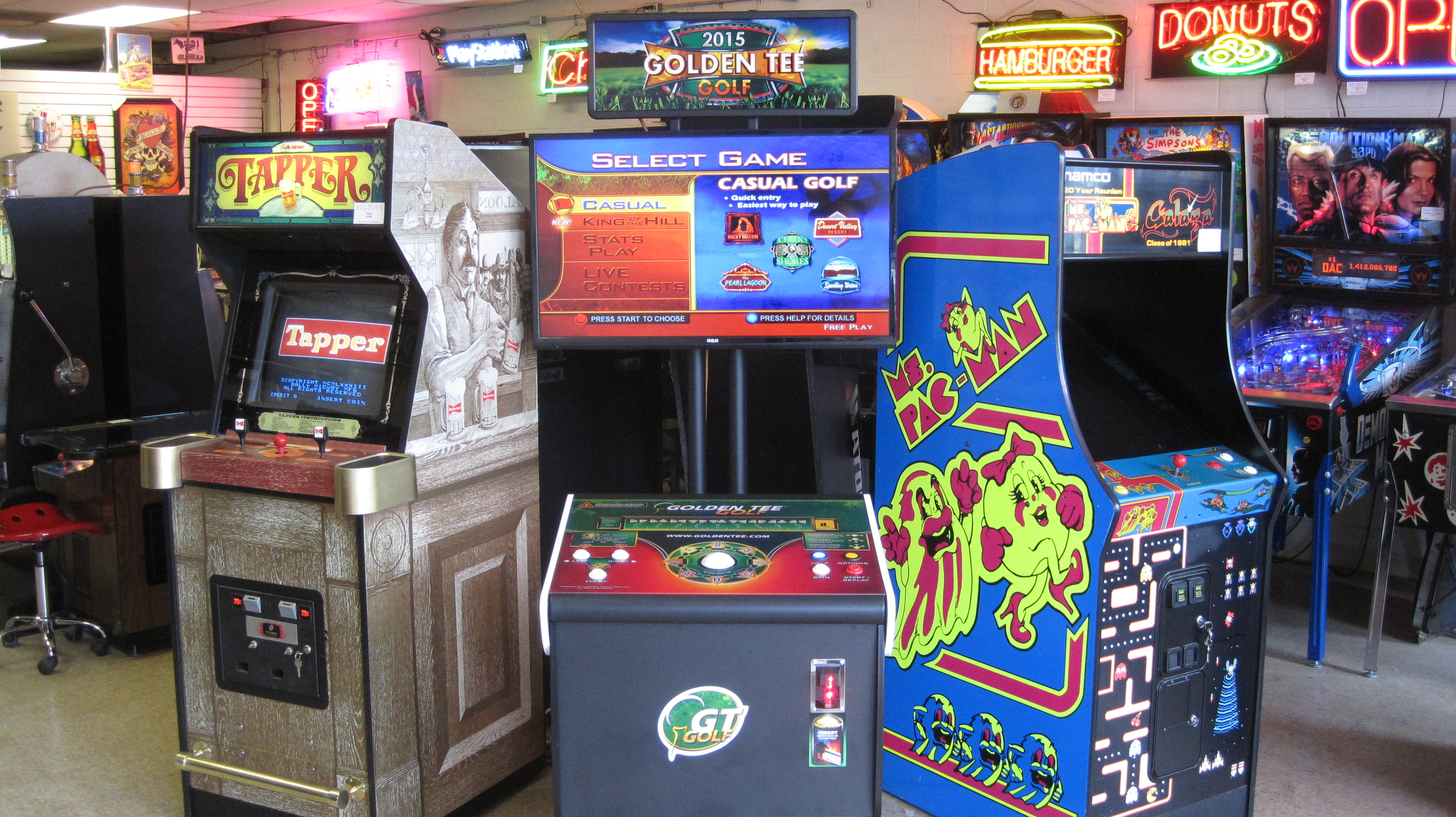 Swell Big Toys Arcade Sales And Service Download Free Architecture Designs Remcamadebymaigaardcom